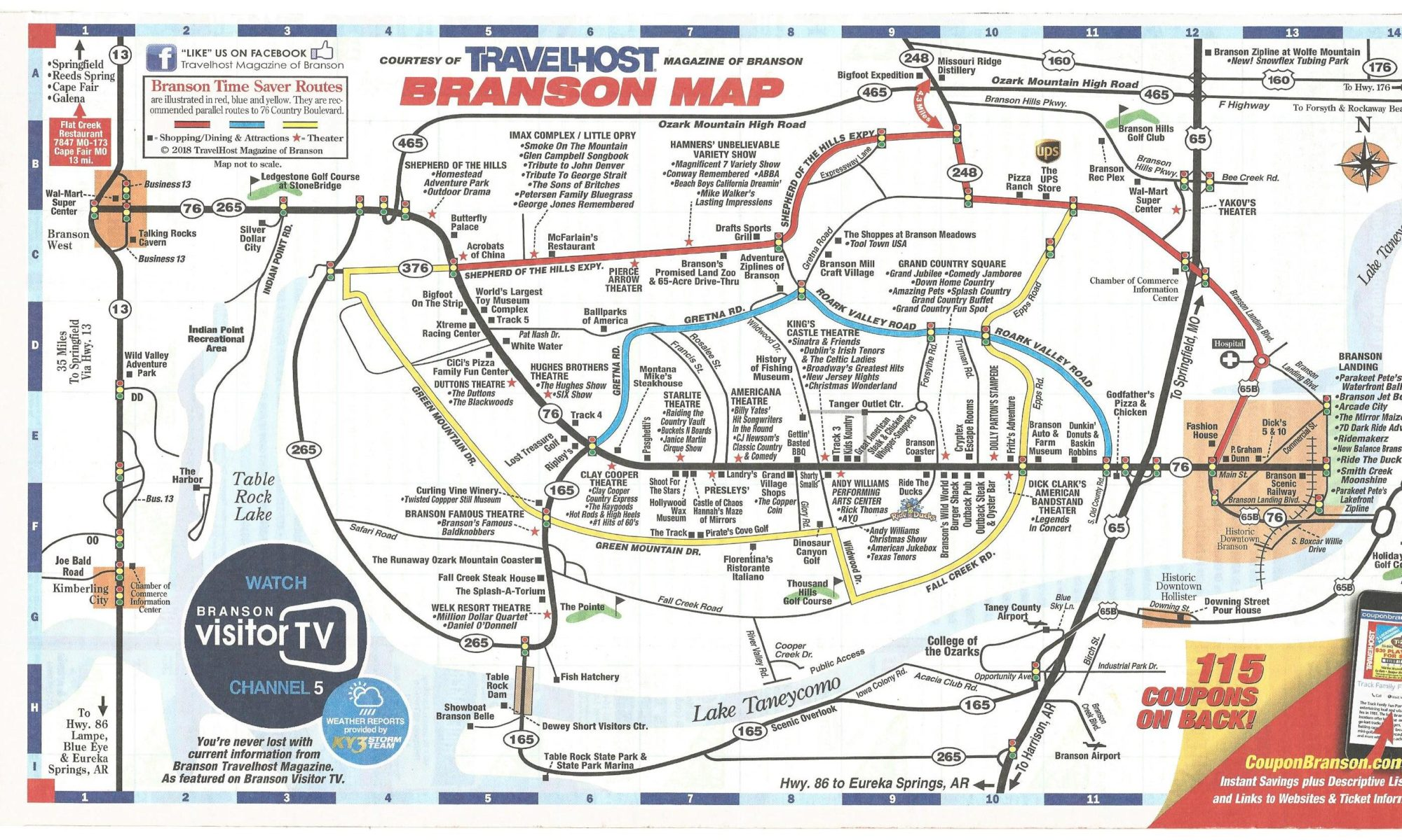 attractions map
