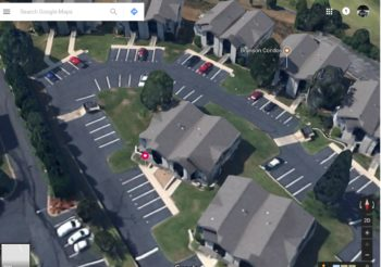 Overhead View of our Condo