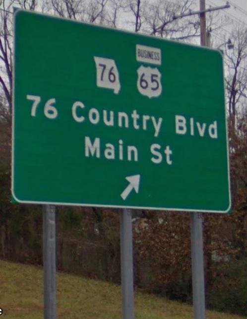 I-65 branson exit